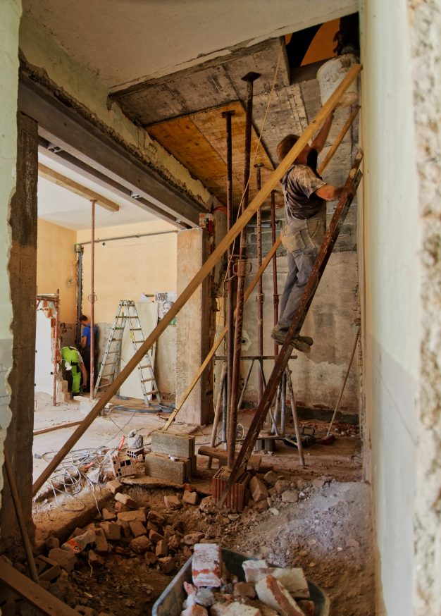 renovating a house in Florence Italy